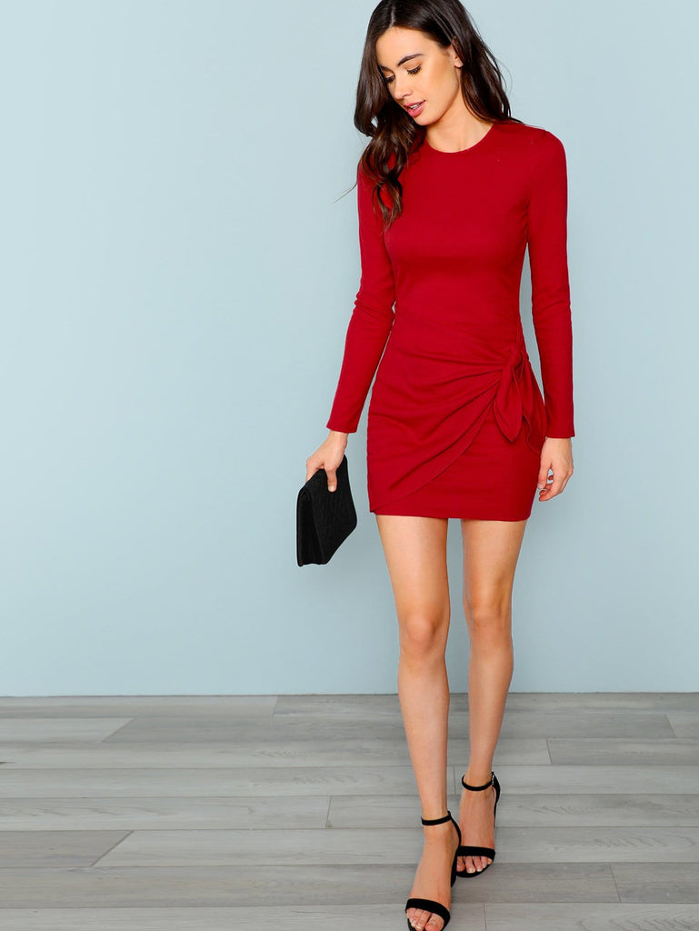 The Ruby Dress - Red - Keturah Monae Fashion