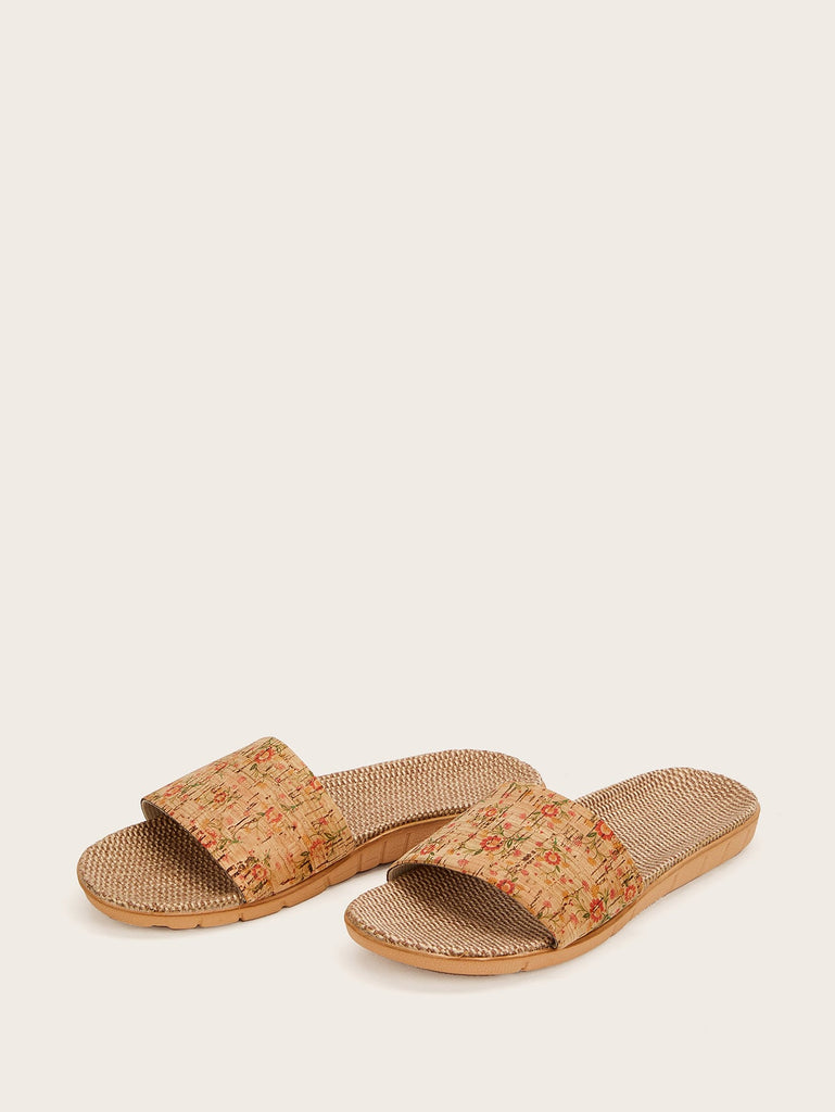 Corner Man Sliders - Brown - Keturah Monae Fashion