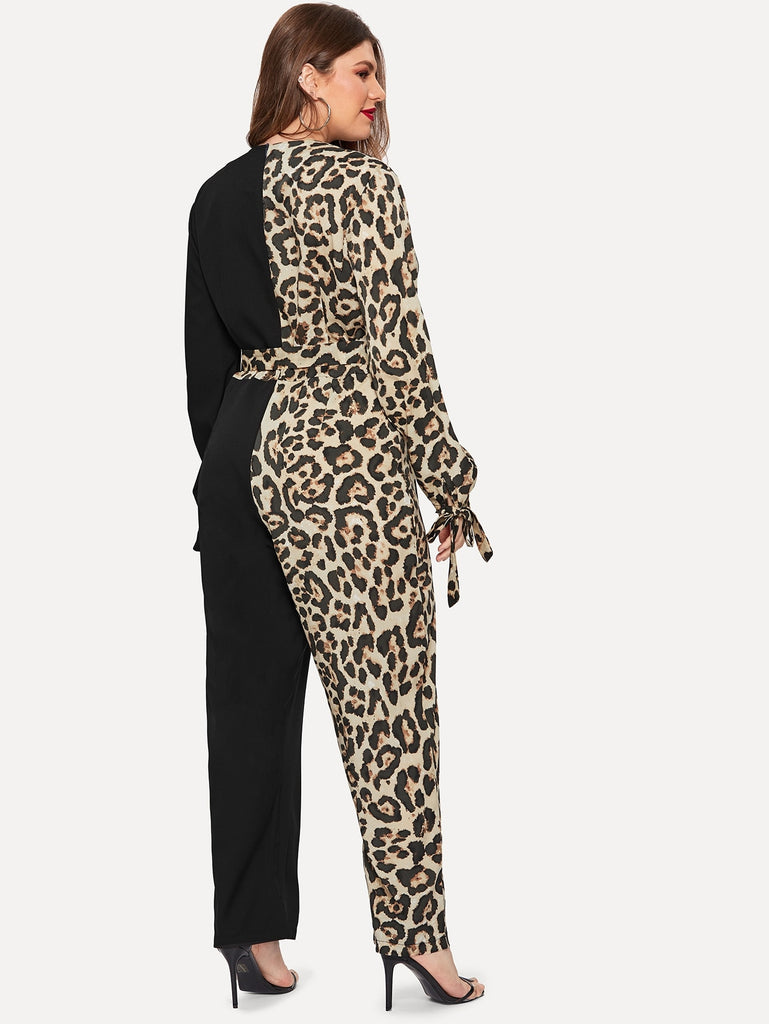 Night Diva Jumpsuit - Leopard - Keturah Monae Fashion