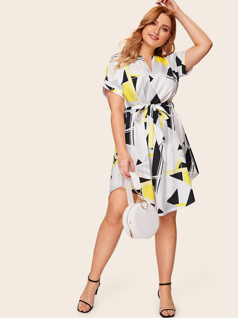 Hem Him Up Dress - Yellow/Black - Keturah Monae Fashion
