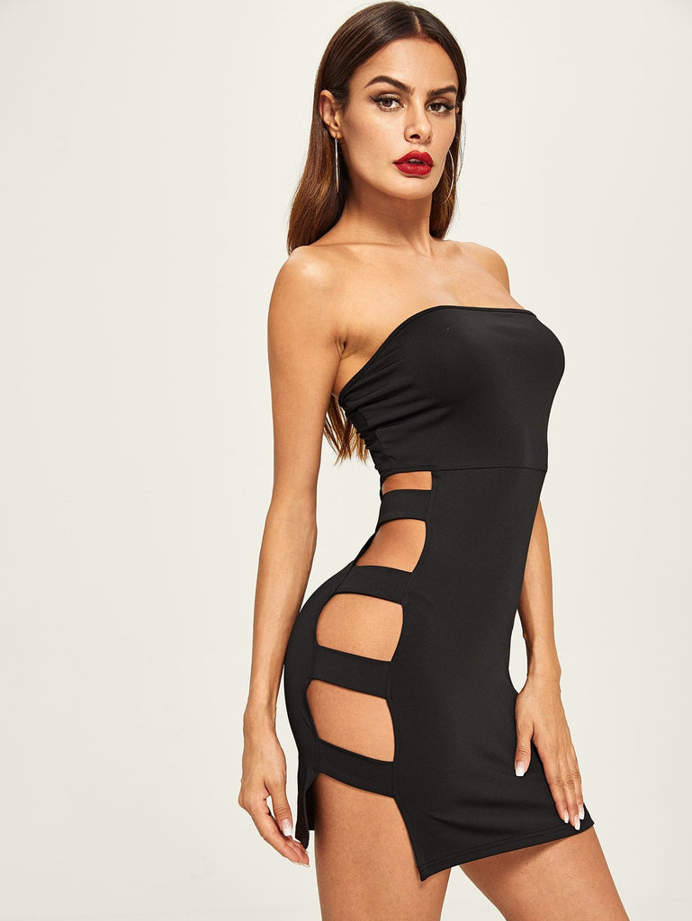 Block Him Dress - Black - Keturah Monae Fashion