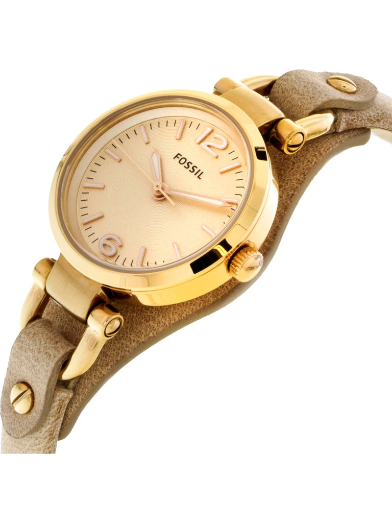 Fossil Georgia Watch - Tan - Keturah Monae Fashion