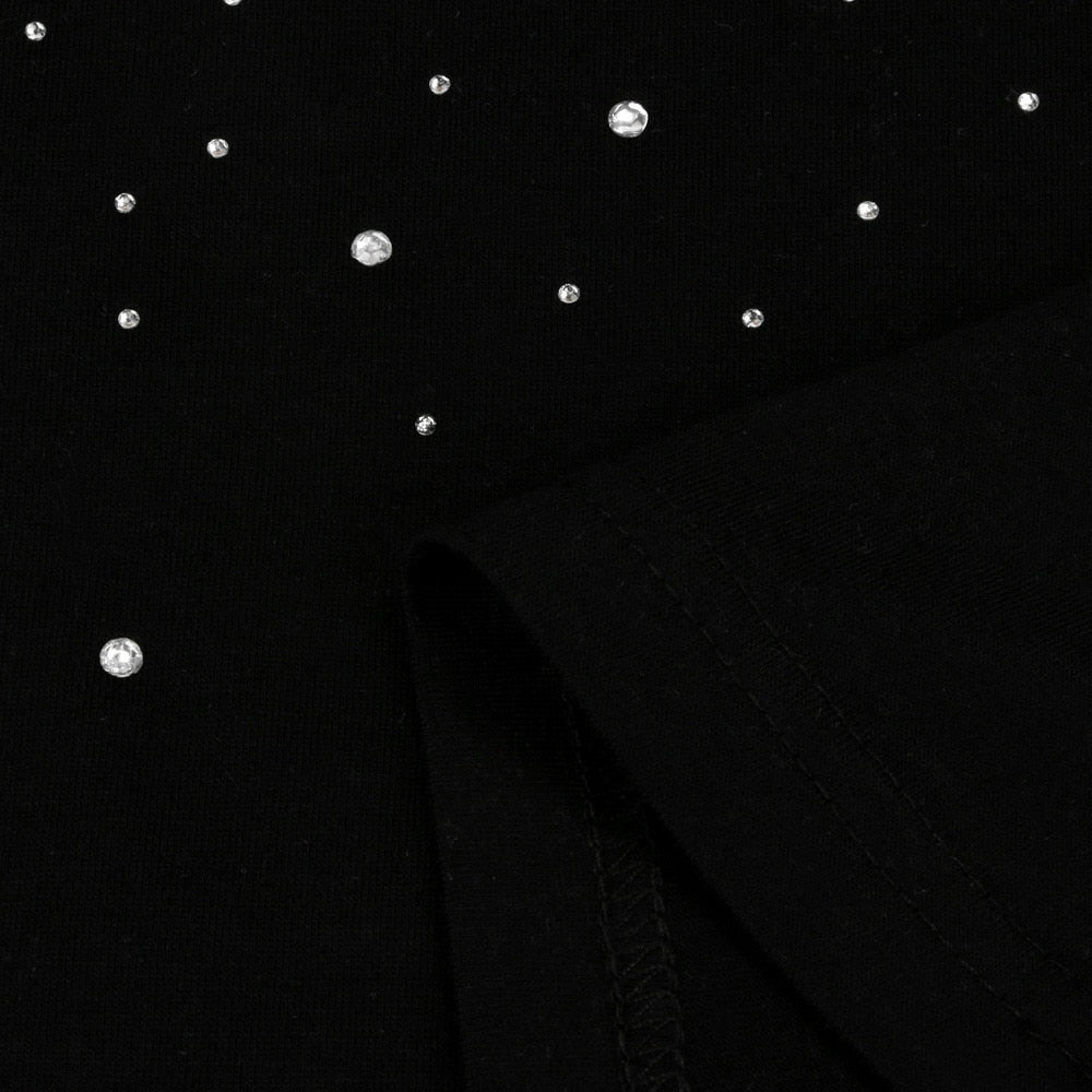 Stars In Line Blouse - Black - Keturah Monae Fashion