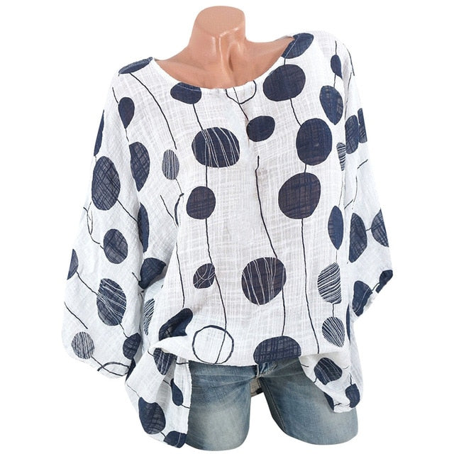 Dont Poke Me - Blouse Black/White - Keturah Monae Fashion