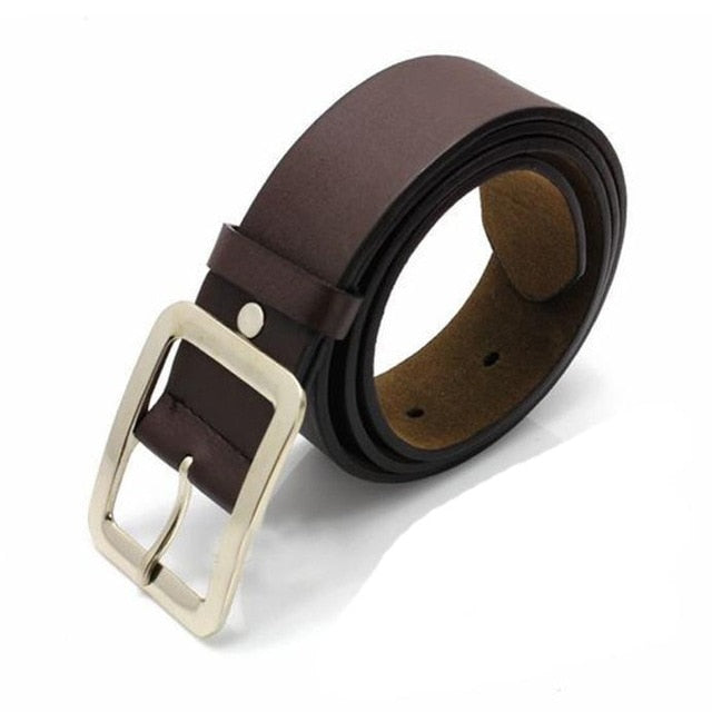 Casual Faux Leather Belt - Brown - Keturah Monae Fashion