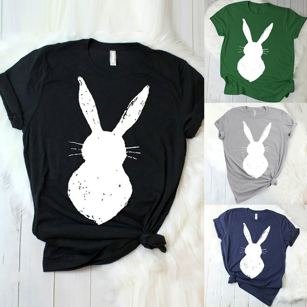 Rabbit Ears Tshirt - Grey - Keturah Monae Fashion