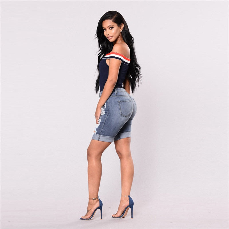 The Brave Shorts - Blue - Keturah Monae Fashion