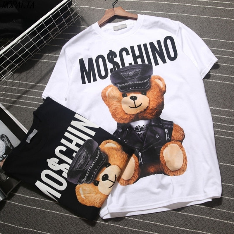 Ted Tshirt - White/Black - Keturah Monae Fashion