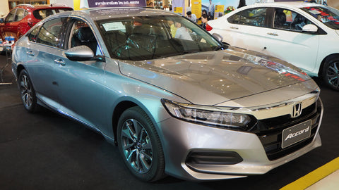 2019 honda accord turbo with replacement fenders