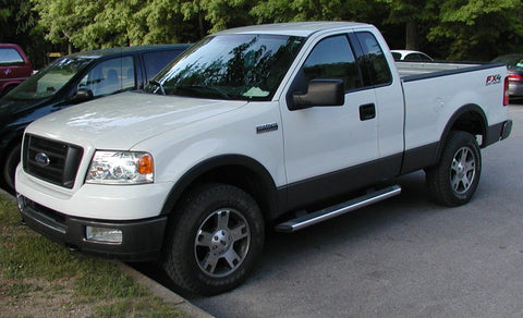 Ford F150 with replacement bumper