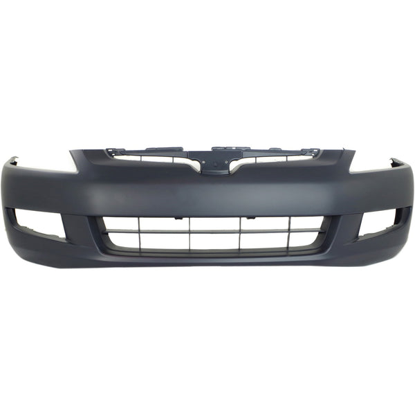 2003-2005 Honda Accord Coupe (W/ Foglight Holes) Front Bumper Painted