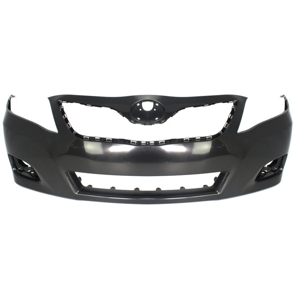 USA Front Bumper Cover Painted 202 Black 2010 2011 Toyota Camry