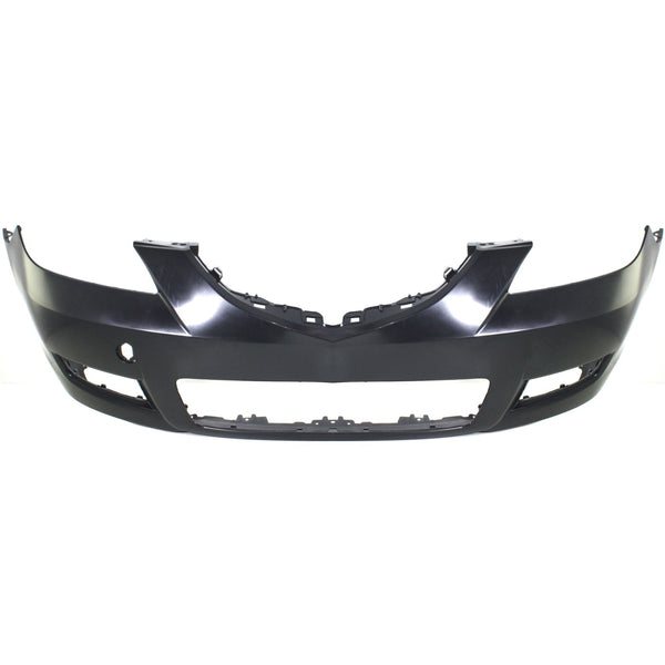 2007-2009 Mazda 3 Sedan Front Bumper Painted