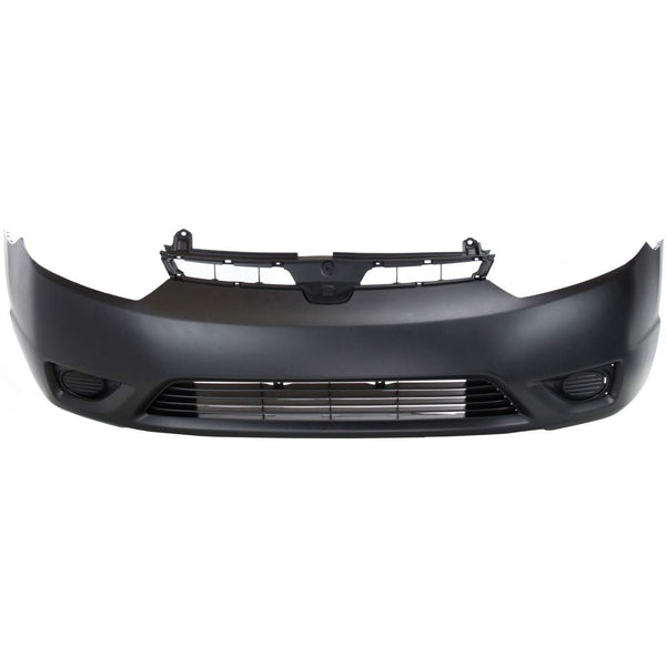 2006-2008 Honda Civic Coupe Front Bumper Painted