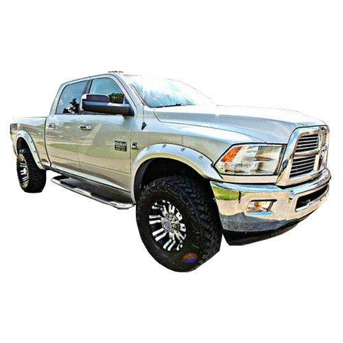 2010-2018 Dodge Ram 2500/3500 Painted to Match Fender Flare Set - Pop-Out Style