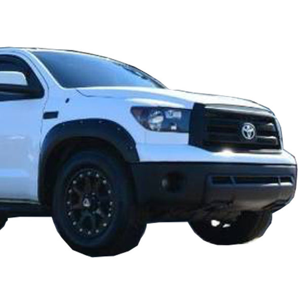 2007-2013 Toyota Tundra Painted to Match Fender Flare Set (Long Front) - Bolt Style (Pocket Style)