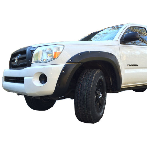 "2005-2011 Toyota Tacoma 60.3"" Bed - Painted to Match Fender Flare Set - Bolt Style (Pocket Style) w/LED"