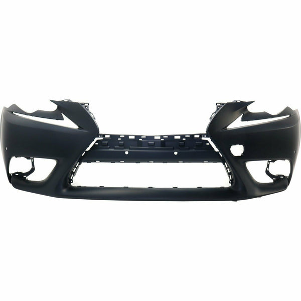 2014-2015 Lexus IS250 Sedan (W/ Parking Sensor Holes | W/O Headlamp Washer Holes) Front Bumper