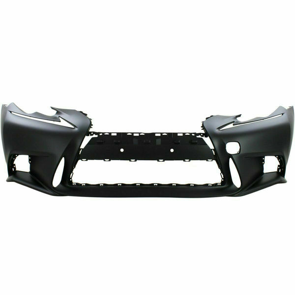 2014-2015 Lexus IS250 (W/ F Sport Package | W/O Headlamp Washer Holes) Front Bumper