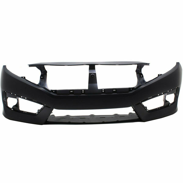 2016 to 2019 Pre Painted Honda Civic Front Bumper - Sedan/Coupe