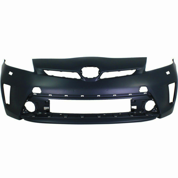 2012-2015 Toyota Prius (W/ LED Lamps Washer Hole) Front Bumper