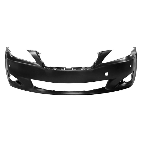 2009-2010 Lexus IS350 (W/ Parking Sensor Holes | W/O Headlamp Washer Holes) Front Bumper