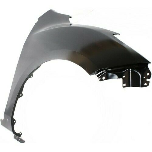 CAPA Passenger and Driver Side Fender Compatible with 2010-2013 Mazda 3 with Stone Guard