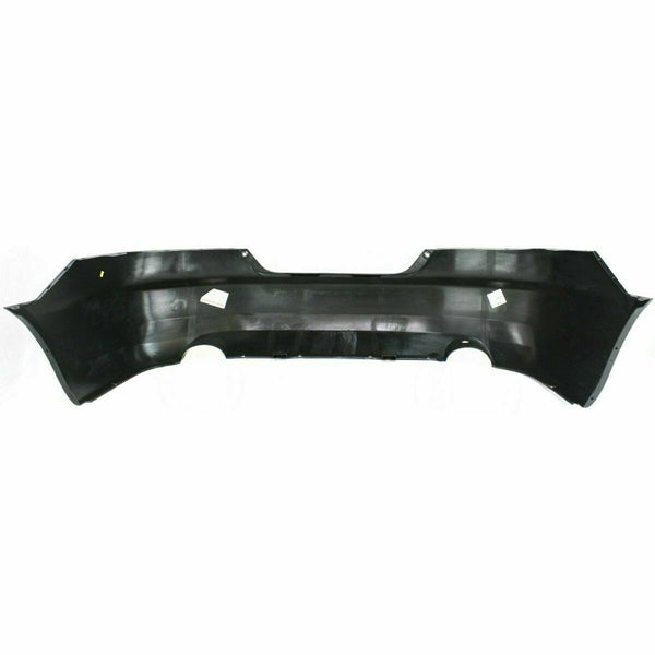 2003 Honda Accord Coupe Rear Bumper Painted B92P Nighthawk Black Pearl 4CYL