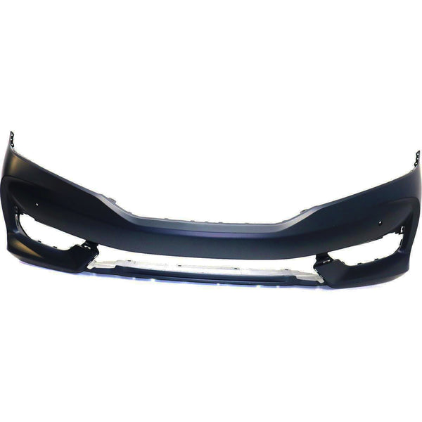 2016-2017 Honda Accord Coupe (W/ Sensor Holes) Front Bumper Painted