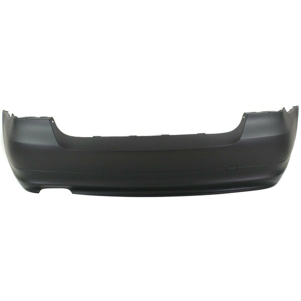 2009-2011 BMW 3-Series Sedan (3.0L, W/O Turbo and W/O Sensor Holes) Rear Bumper