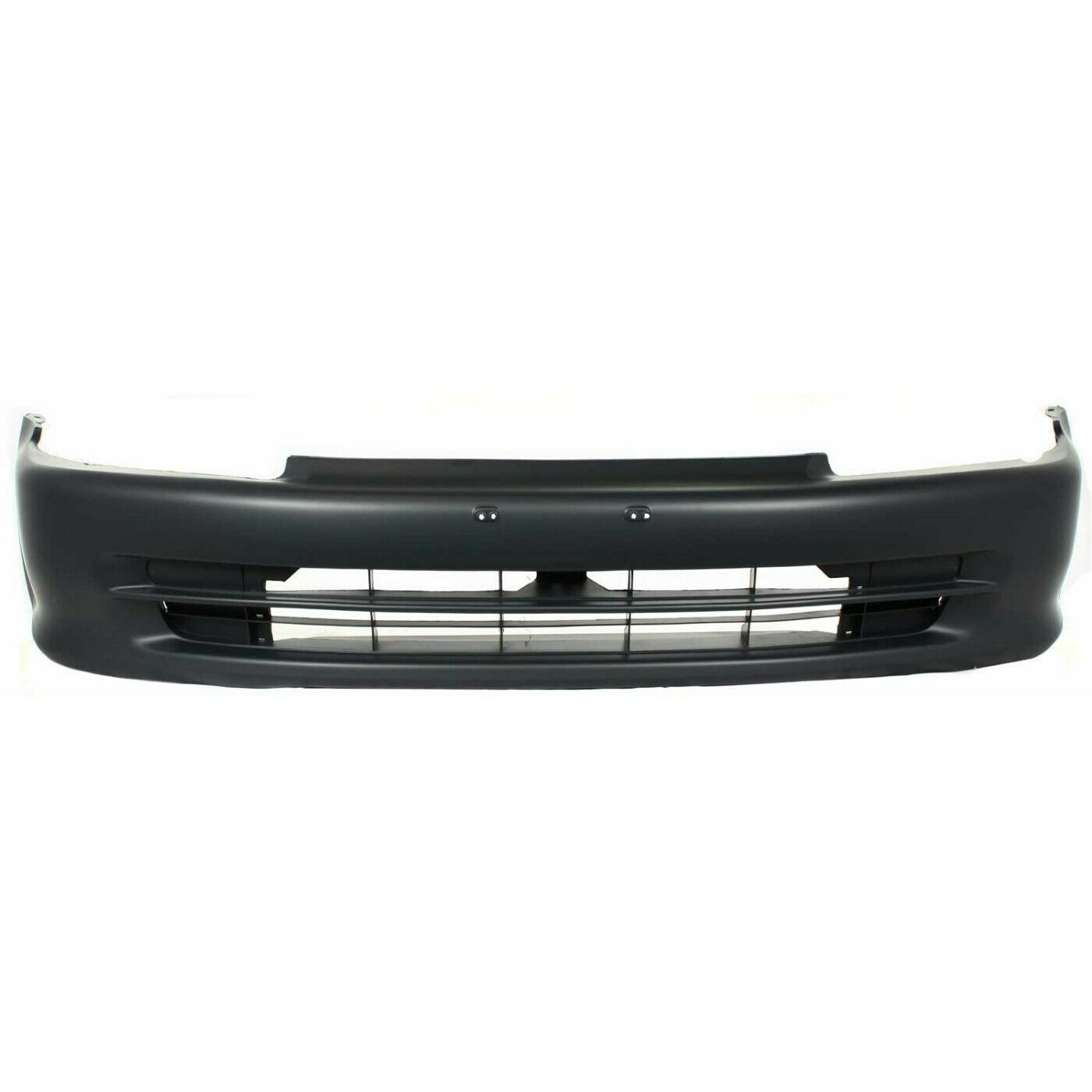 1992-1995 Honda Civic Sedan Front Bumper Painted