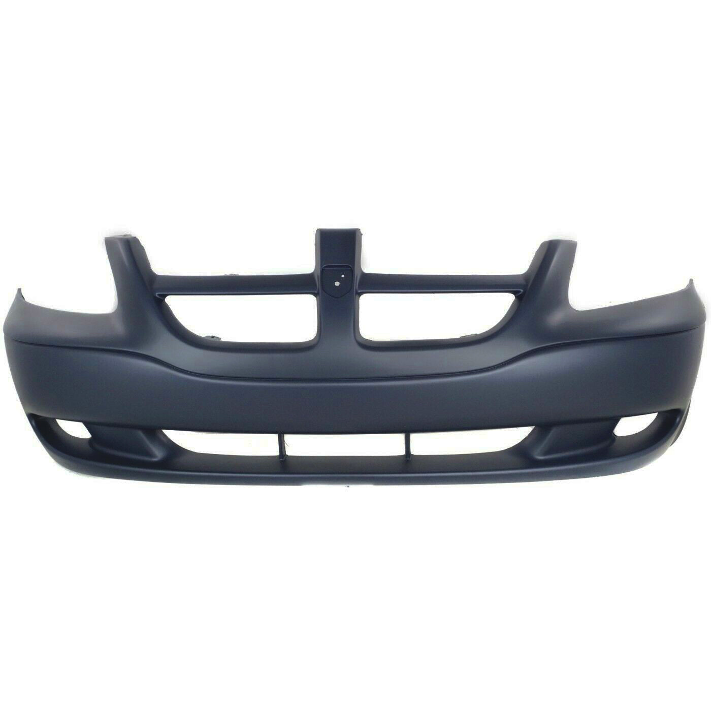 2001-2004 Dodge Caravan (Base/Sport/Grand | W/O Fog Light Cutouts) Front Bumper