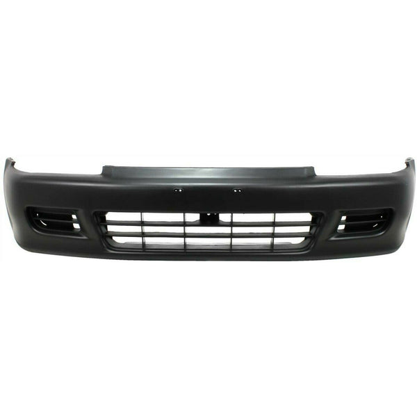 1992-1995 Honda Civic Coupe Front Bumper Painted