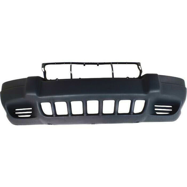 1999-2003 Jeep Grand Cherokee (Laredo, W/ Fog Light Holes) Front Bumper Painted