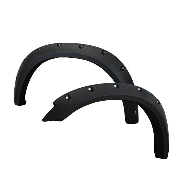 2010-2018 Dodge Ram 2500/3500 Painted to Match Fender Flare Set - Bolt Style
