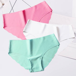 3pcs Set Mid-Waist Cotton Panty - asheers4u