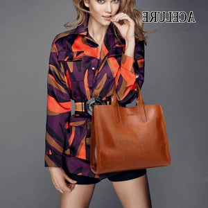 High Quality Spanish Brand Big Tote Women Handbags - asheers4u