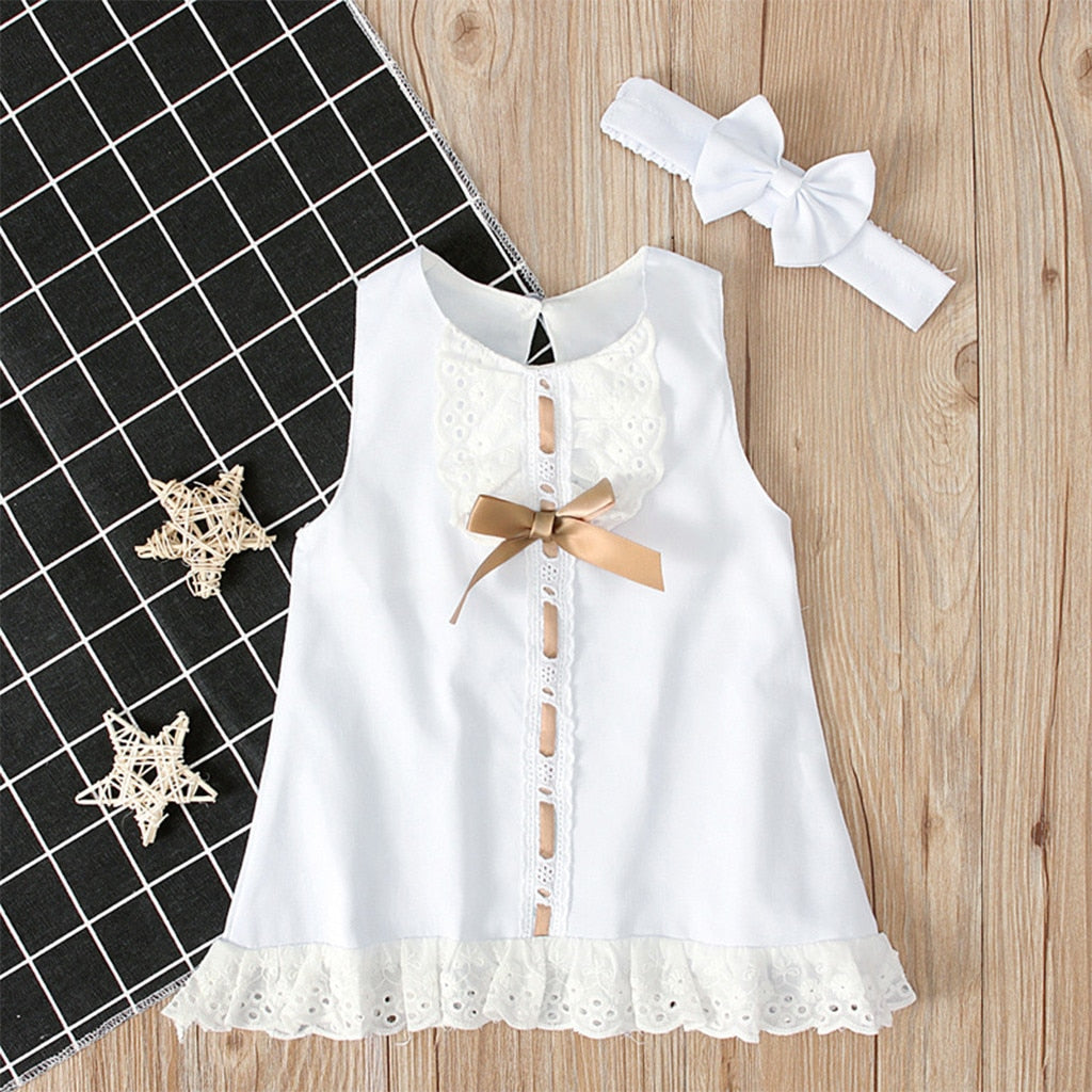 Two-Piece Princess Dress for 0-24 Months Cute Baby - asheers4u