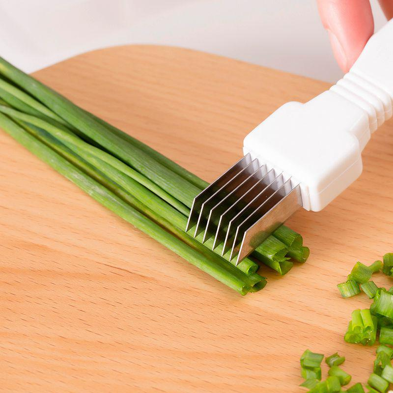 Herbs Cutting Vegetable and fruit slicer chopper Kitchen Knife - asheers4u