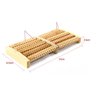 Wooden Foot Relief Massager - asheers4u