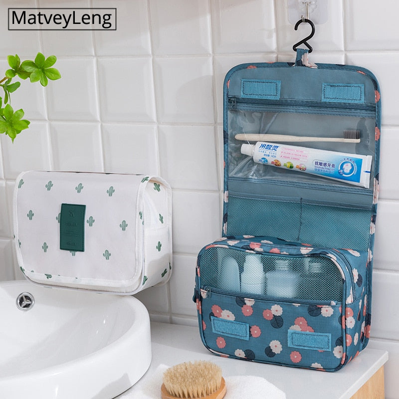 High quality Women Waterproof Travel Cosmetics Toiletries Organizer Bag - asheers4u