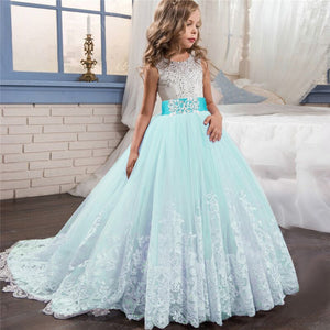 Birthday Party Gown Dresses (6-14 Yrs)