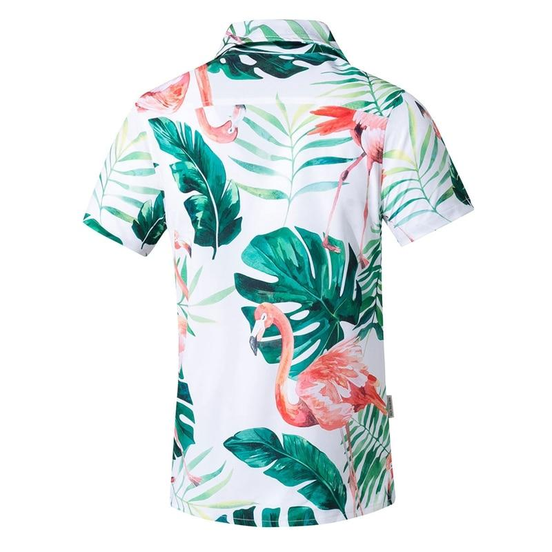Short Sleeve Hawaiian Casual Floral Beach Shirts (Plus Size 5XL Available) - asheers4u