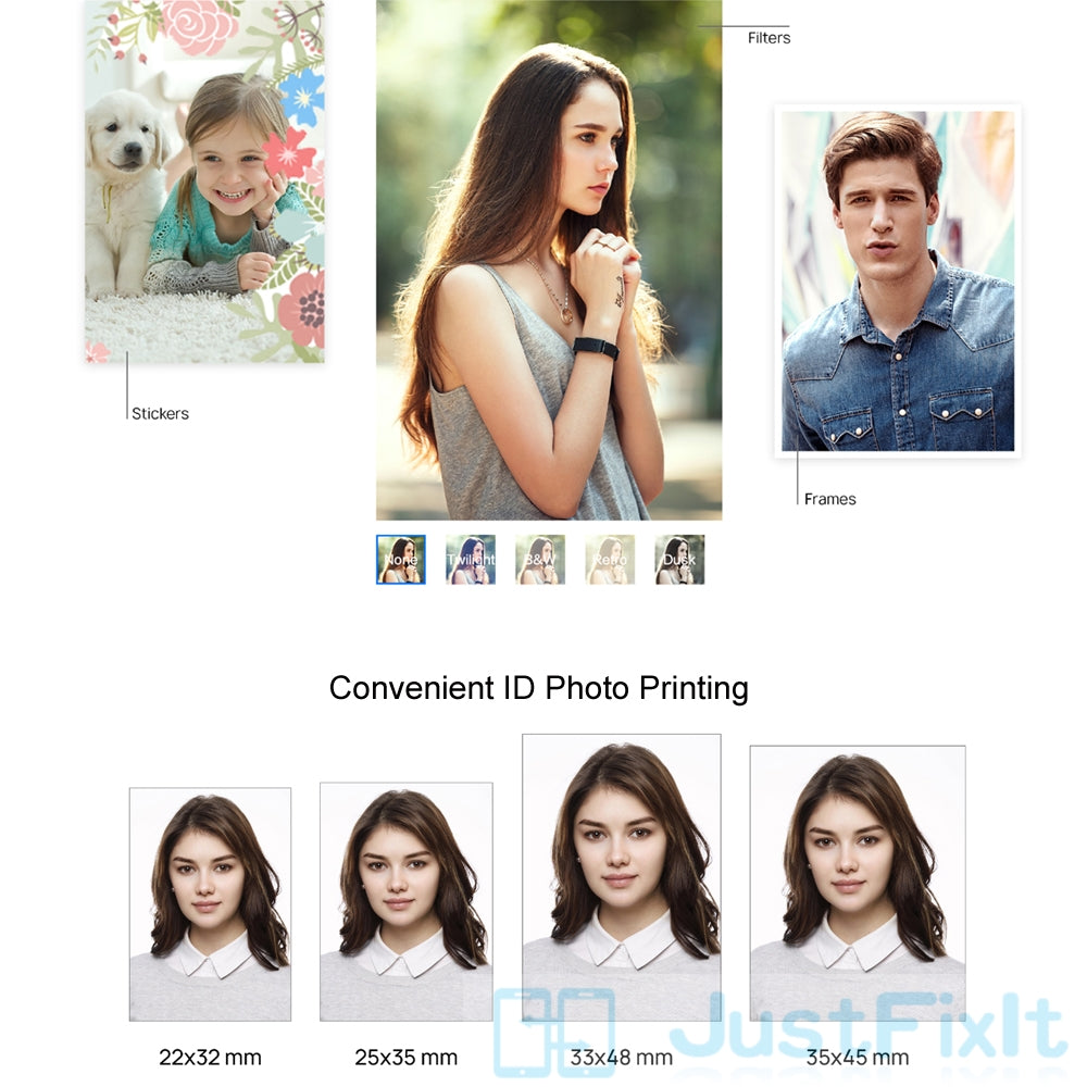 Huawei Printer Photo Paper for Mini Portable DIY Photo Printers - asheers4u