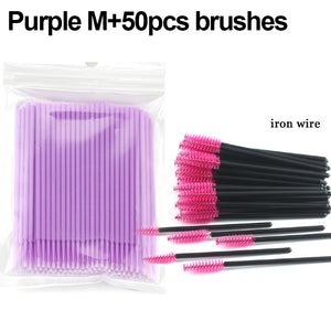 Disposable Fake EyeLash Removing Tools 100Pcs/pack - asheers4u