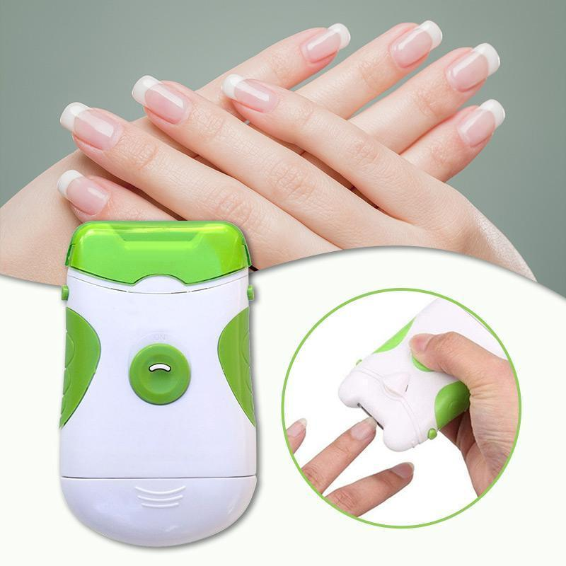 Effortless Electric Nail Trimmer and Manicure Pedicure Tool - asheers4u