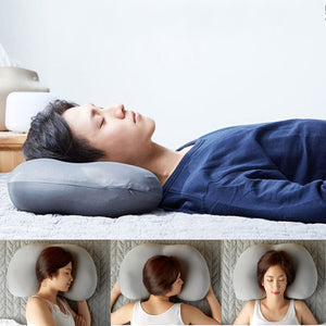 Deep Sleep Pressure Relief Pillows With Pillow Case - asheers4u