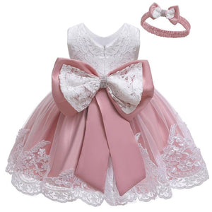 Newborn Baby Girls Princess Birthday Party Dresses - asheers4u