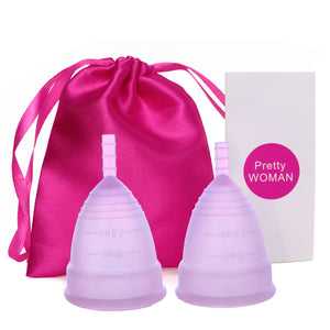 Hygiene Medical Grade Silicone Menstrual Cup - asheers4u
