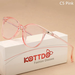 Fashion Transparent Optical Glasses For Unis - asheers4u